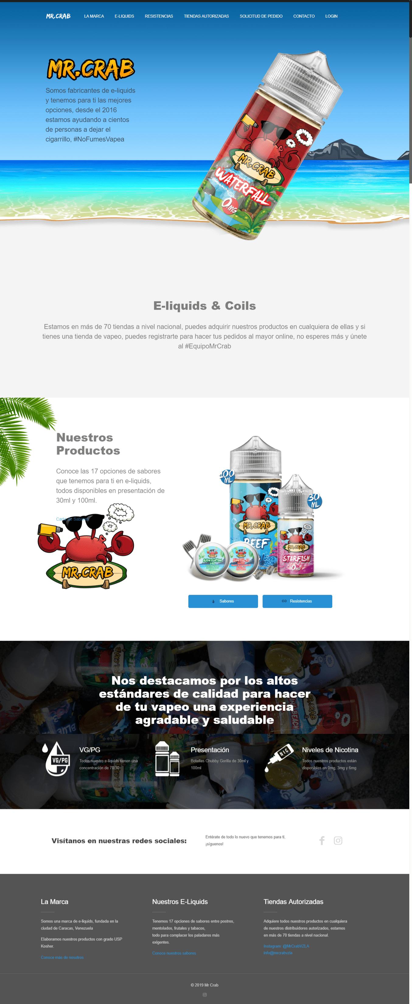 Mr Crab – E-liquids --min